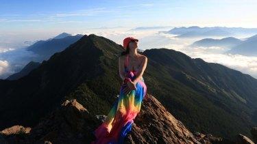 Tragic death: Gigi Wu, the 'bikini hiker'.