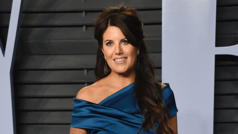 Monica Lewinsky, pictured at an Oscars Party in March, is throwing her influence behind a potent anti-bullying campaign.
