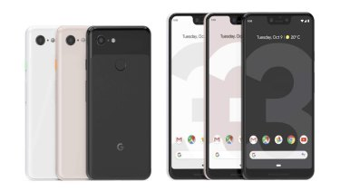 The Google Pixel 3 and Google Pixel 3 XL.