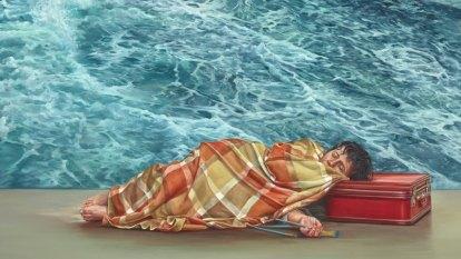 Julia Ciccarone's self-portrait wins Archibald Prize people's choice