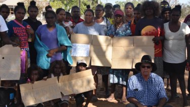Locals at the remote indigenous community of Doomadgee protest over several deaths at the local hospital, most recently an 18-year-old woman.
