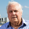 Clive Palmer 'won't spend a single dollar' on WA election, blasts Kirkup over leadership