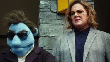 Melissa McCarthy stars in the controversial new Muppets movie.