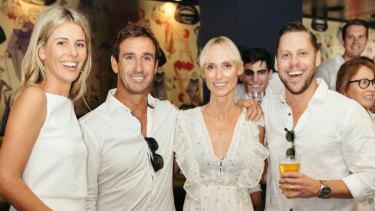 Lara Pitt, Andrew Johns, Kate Kendall, Anthony Pitt.