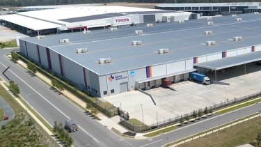 LOGOS and TCorp have acquired a distribution centre from Sigma Healthcare Limited in Kemps Creek, Sydney NSW