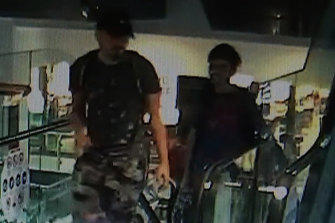 Police have released CCTV images of two unidentified men they believe may be able to assist with the investigation of a scam targeting the elderly.