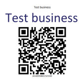 A QR code generated by Queensland's system.