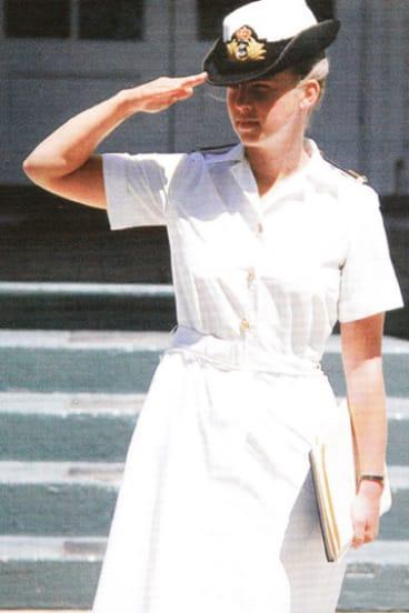 Jennifer Wittwer, in a 1980s recruiting advert.