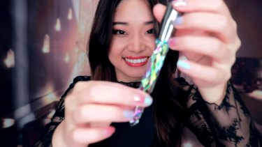 ASMR artist Tingting has over 1.3 million subscribers.