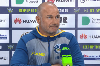 Brad Arthur is under pressure at the Eels despite leading them to within a whisker of a preliminary final.
