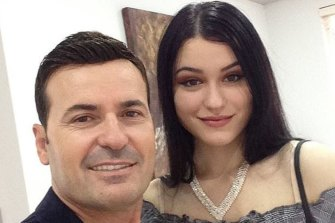 Petrit Lekaj has admitted murdering his daughter Sabrina.