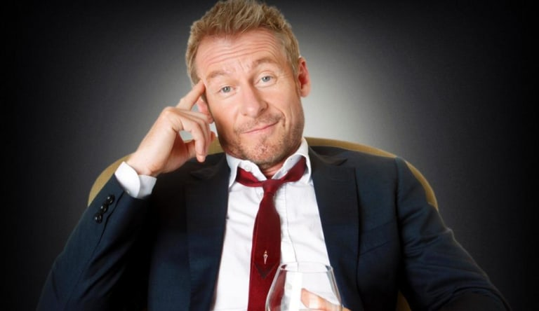 Richard Roxburgh as Cleaver Greene in the series Rake.