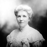 NZ's most famous suffragette, social reformer, writer, and first president of National Council of Woman in NZ, Kate Sheppard.