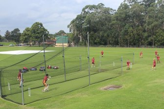 Oakhill college received funding to upgrade their cricket nets from a $335 million grants program designed to help not-for-profit organisations build community infrastructure.