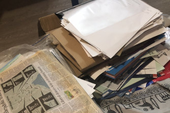 Internal ALP documents dumped in a bin behind a chicken shop.