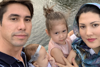 Shaima Azizi, who lives in Brisbane with her husband Mohammad and two daughters,desperately wants to get her mother, brother and sister-in-law out of Kabul.