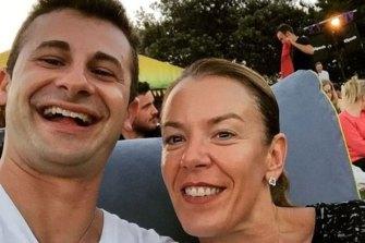 Melissa Caddick with her second husband Anthony Koletti.