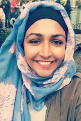Anam Javed has been leading information sessions with the Muslim community.
