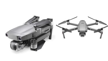 A photo of a DJI brand and Mavic model drone, similar to the one Russell Hill had recently bought.