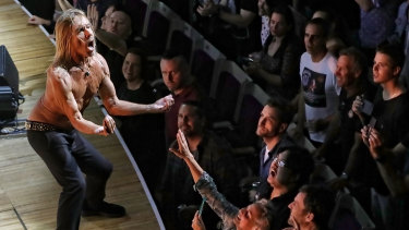 One of rock's greatest frontmen, Iggy Pop hasn't lost his raw power.