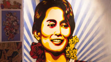 Aung San Suu Kyi, a one-time symbol for democracy whose reputation has been tarnished.