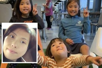 Kaoru Okano and her three young daughters were killed in a house fire in Glen Waverley.