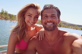 Anna Heinrich met husband Tim Robards on The Bachelor.