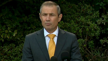 WA Health Minister Roger Cook gives an update.