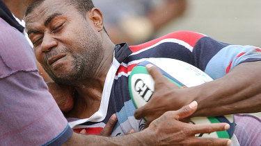 Rupeni Caucaunibuca turned heads for Fiji at the 2003 Rugby World Cup in Australia.