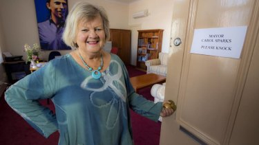 Glen Innes Severn Council mayor Carol Sparks, pictured prior to the fires.
