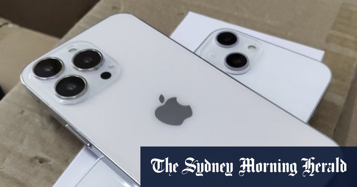 Don't spit the dummy, it's iPhone 13 - Sydney Morning Herald