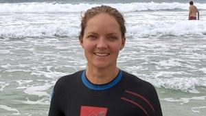 A reformed pool swimmer, Jill Berry likes to train at Bondi Beach.