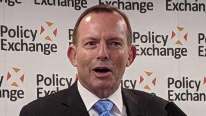 Tony Abbott quotes the Bible in London Brexit speech