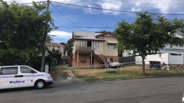 Homicide detectives are investigating the death of a man who was found at a home on Hunter Street in Kelvin Grove.