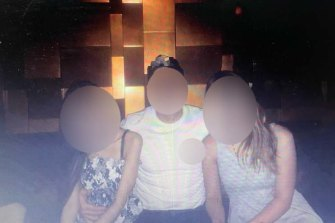 An Australian meat industry executive with two prostitutes on a trip to China.