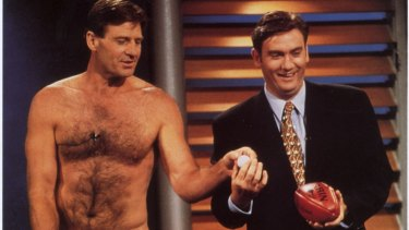 The Footy Show: as we were.