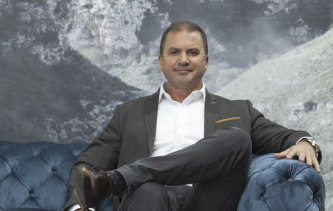 Steve Layton, founder of furniture business The Layton Group.