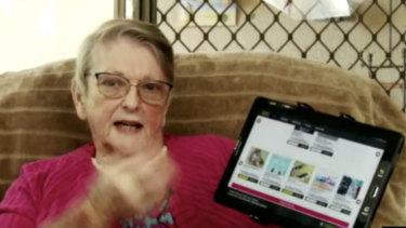 Barbara Ramsay says a virtual seniors centre has given her reason to get up in the morning.