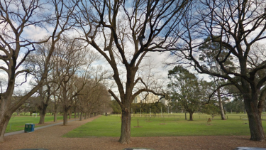 Fawkner Park in South Yarra is popular with families and sporting clubs.