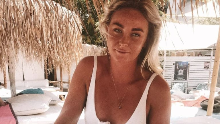 Instagram photo of NSW woman Sinead McNamara who recently died while on a boat in Greece. Her funeral was held today in Port Macquarie in Northern NSW, Australia. Photo via Instagram / @sineadmcnamara