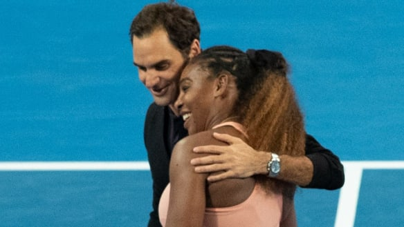 Federer and Williams click 'greatest selfie of all time'