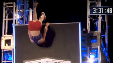 Vivian was the first woman in Ninja Warrior history to pull off this move.