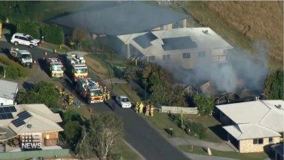 Two die in savage Kilcoy house fire
