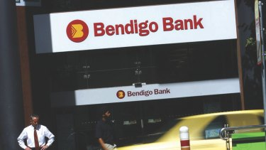 Bendigo shares dropped after reporting its first half earnings.