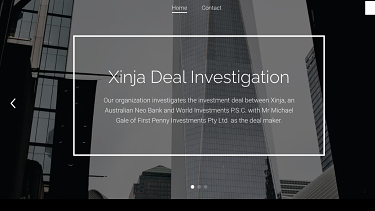 An anonymous website is offering cash rewards of up to $1 million for information about the $433 million Xinja deal that never materialised.