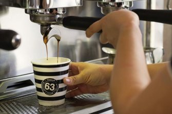Brisbane cafe chain Cafe 63 has come to national attention after its unusual menu went viral on social  media.