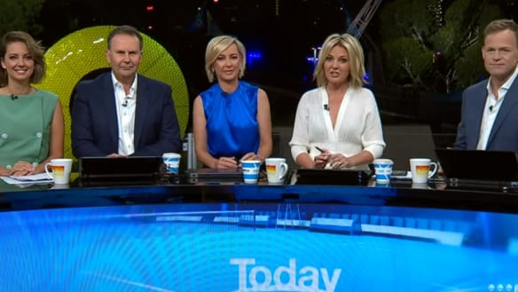 Nine's 'new-look Today show' launches with same ol' vibe
