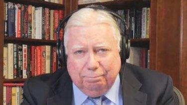 Conservative author Jerome Corsi.