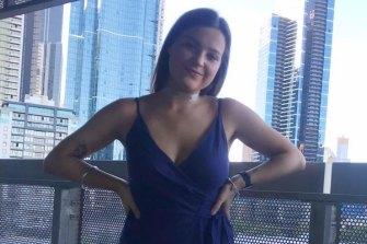 Jacinta Barnett died in hospital after the car crash.
