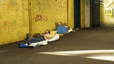 Census data from 2016 indicated about 2600 people are sleeping rough in NSW.